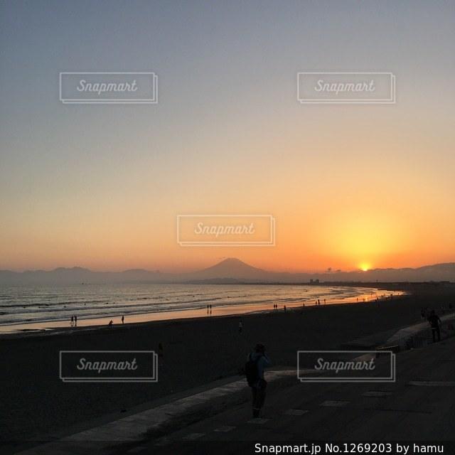 夕日の写真・画像素材[1269203]