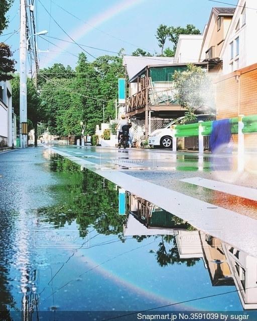 雨上がりの写真・画像素材[3591039]