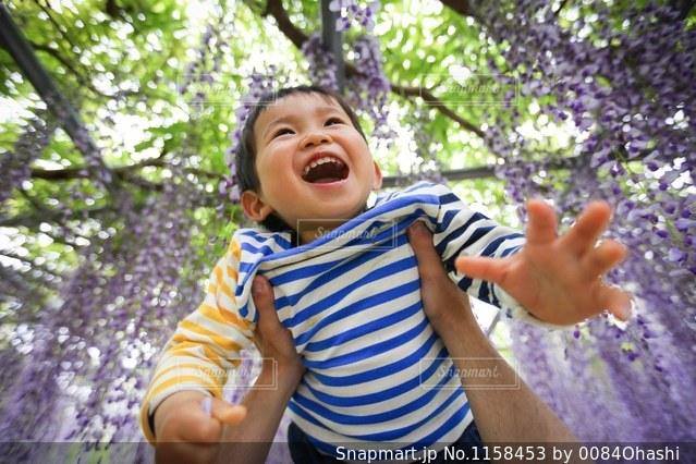 最高の笑顔の写真・画像素材[1158453]