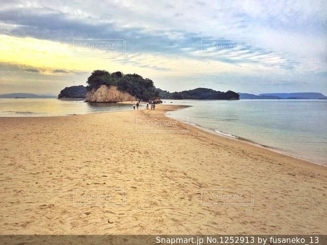 小豆島エンジェルロードの写真・画像素材[1252913]