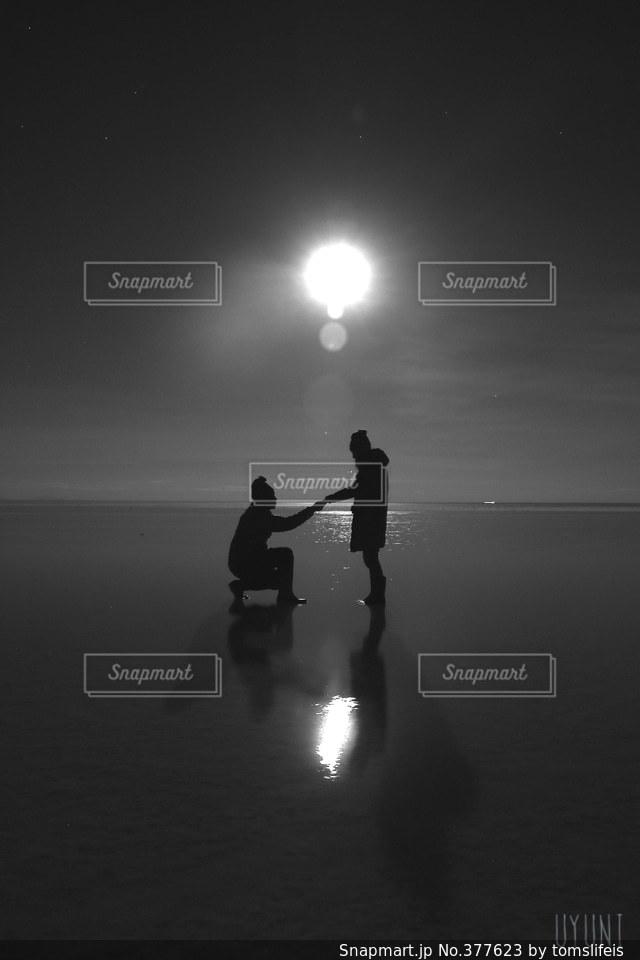 2人の写真・画像素材[377623]