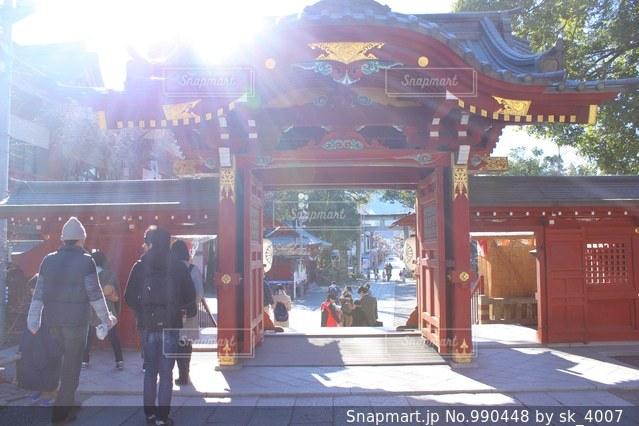 秩父神社の写真・画像素材[990448]