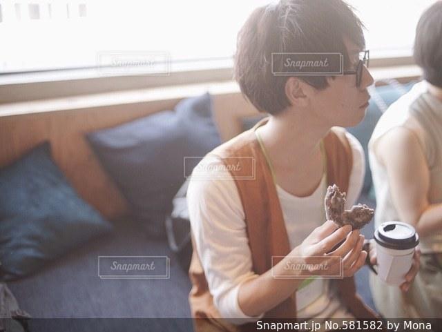 カフェの写真・画像素材[581582]