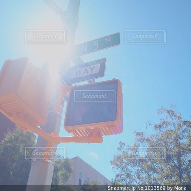 ブルックリン、信号の写真・画像素材[1013569]