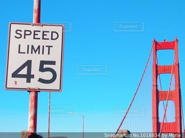 サンフランシスコ、ゴールデンゲートブリッジの写真・画像素材[1018834]