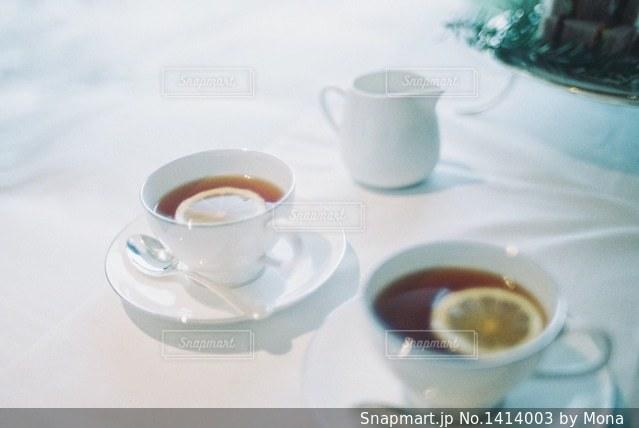 アフタヌーンティーのの写真・画像素材[1414003]