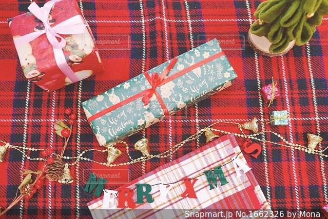 クリスマスプレゼントの写真・画像素材[1662326]