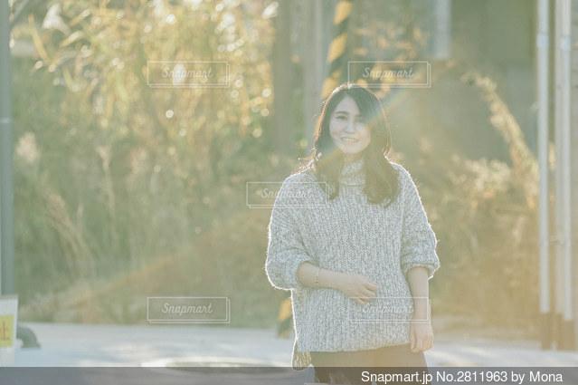 女性ポートレートの写真・画像素材[2811963]
