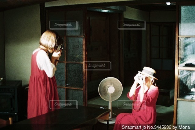 古民家カフェの新しい光の写真・画像素材[3445936]