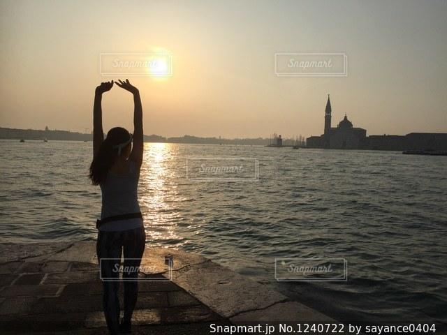 ベネチアランの写真・画像素材[1240722]