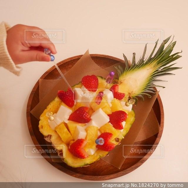 まるごとパイナップル!の写真・画像素材[1824270]