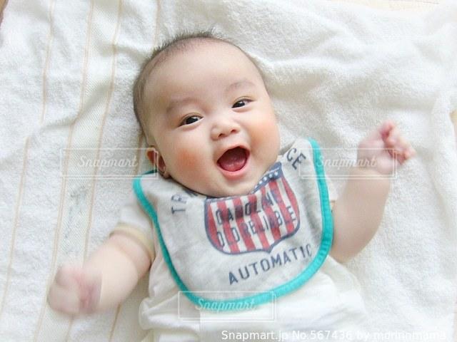 赤ちゃん 男の子の写真・画像素材[567436]