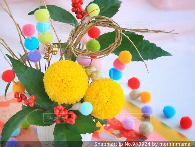 色とりどりの花のグループの写真・画像素材[940924]