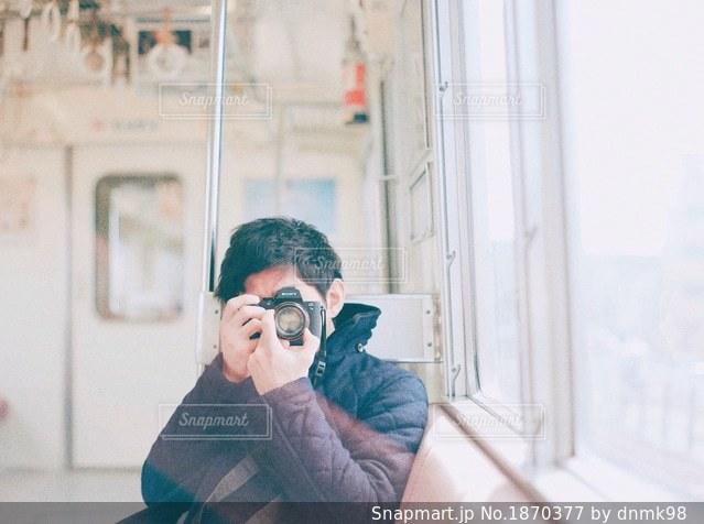 電車旅の写真・画像素材[1870377]