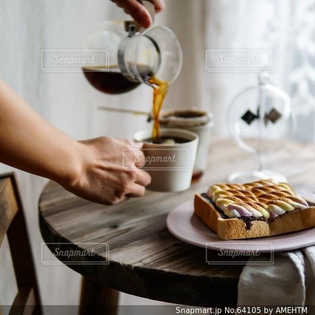 食事の写真・画像素材[64105]