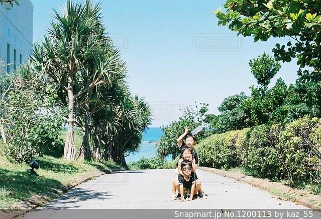 夏の思い出の写真・画像素材[1200113]