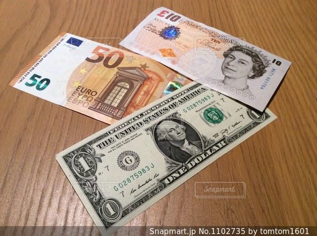 世界の外貨の写真・画像素材[1102735]