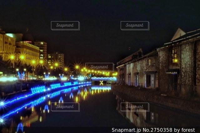 小樽運河の写真・画像素材[2750358]