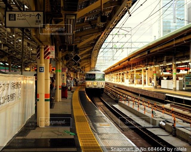 東京駅にて踊り子号の写真・画像素材[684664]