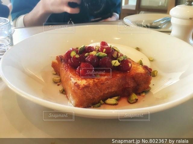 フレンチトーストの写真・画像素材[802367]