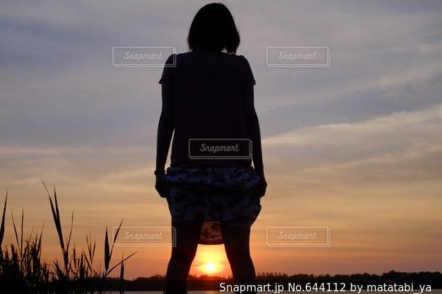 女性の写真・画像素材[644112]
