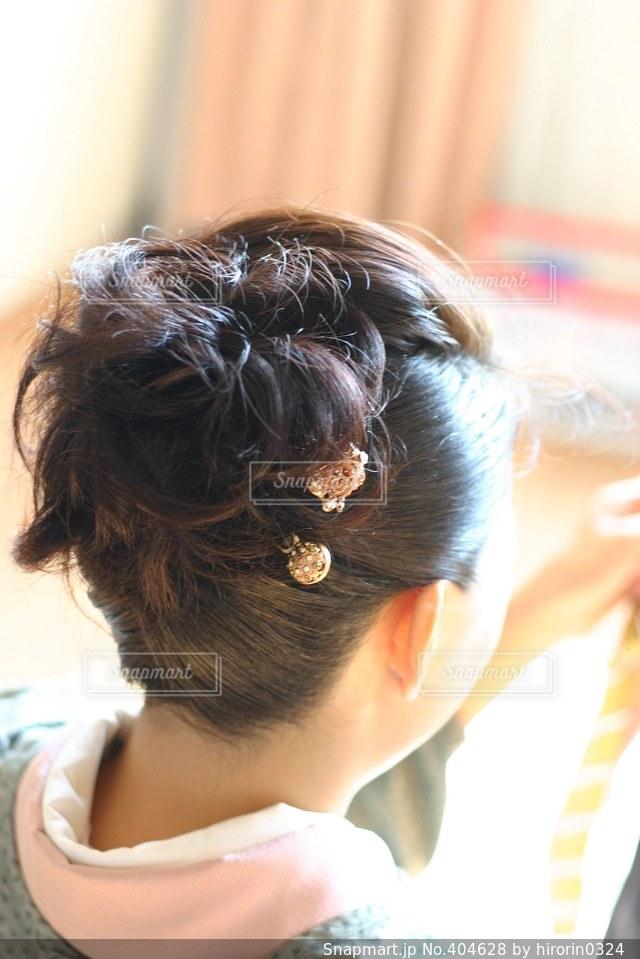 髪型の写真・画像素材[404628]