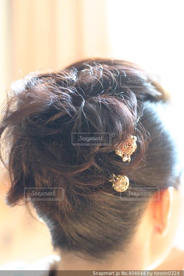 髪型の写真・画像素材[404644]