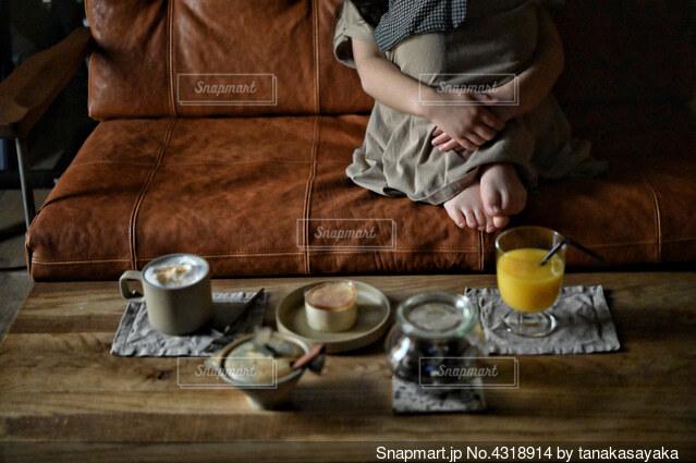 おうちカフェの写真・画像素材[4318914]