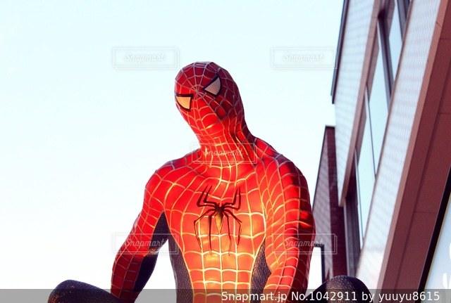 スパイダーマンの写真・画像素材[1042911]