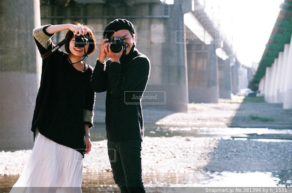恋人の写真・画像素材[381394]