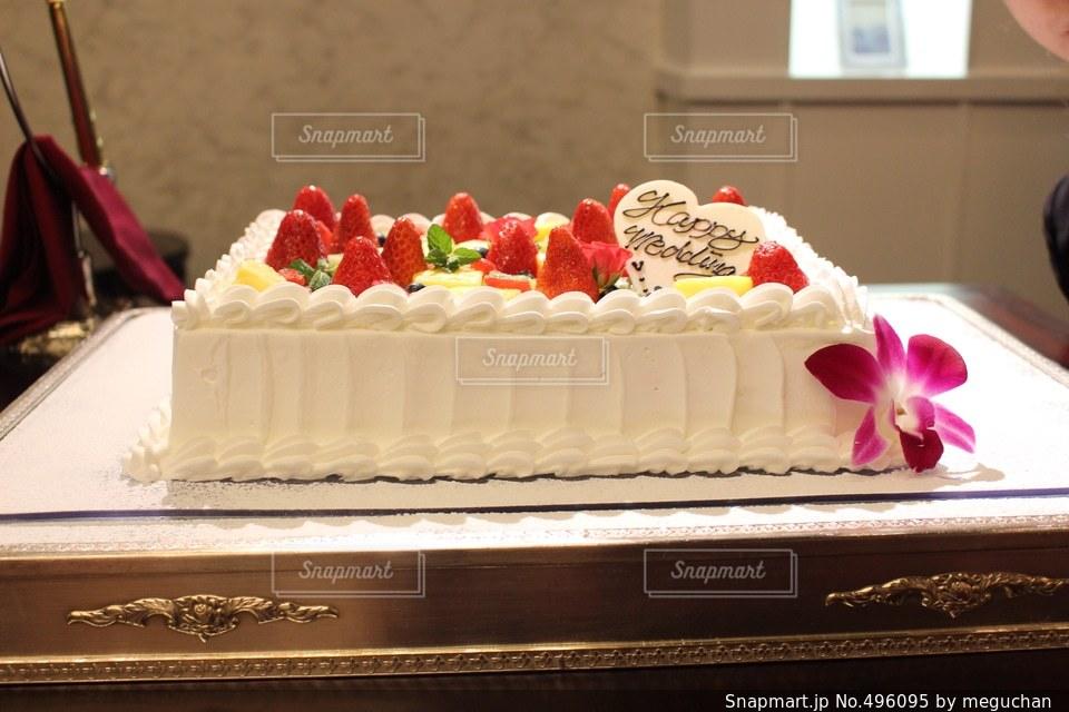 ケーキの写真・画像素材[496095]