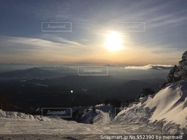 スキー場の景色の写真・画像素材[952390]