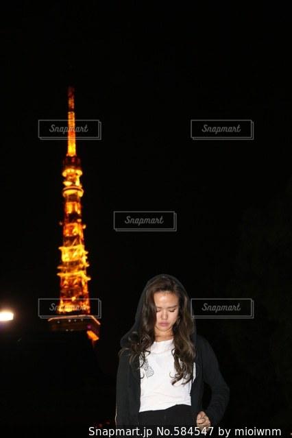 東京タワーの写真・画像素材[584547]