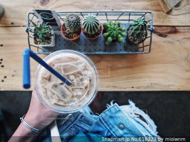 カフェの写真・画像素材[618023]