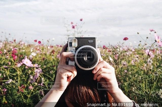 花と私とカメラ - No.891698