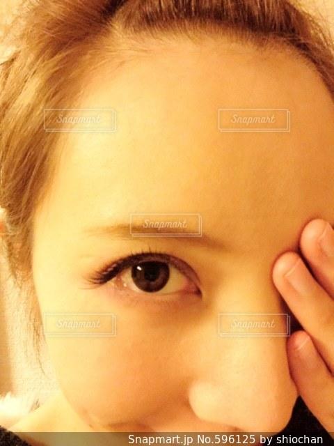 目の写真・画像素材[596125]