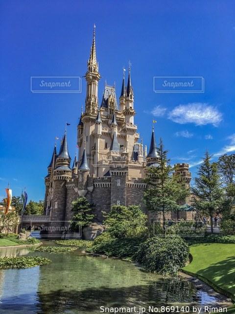 シンデレラ城の写真・画像素材[869140]