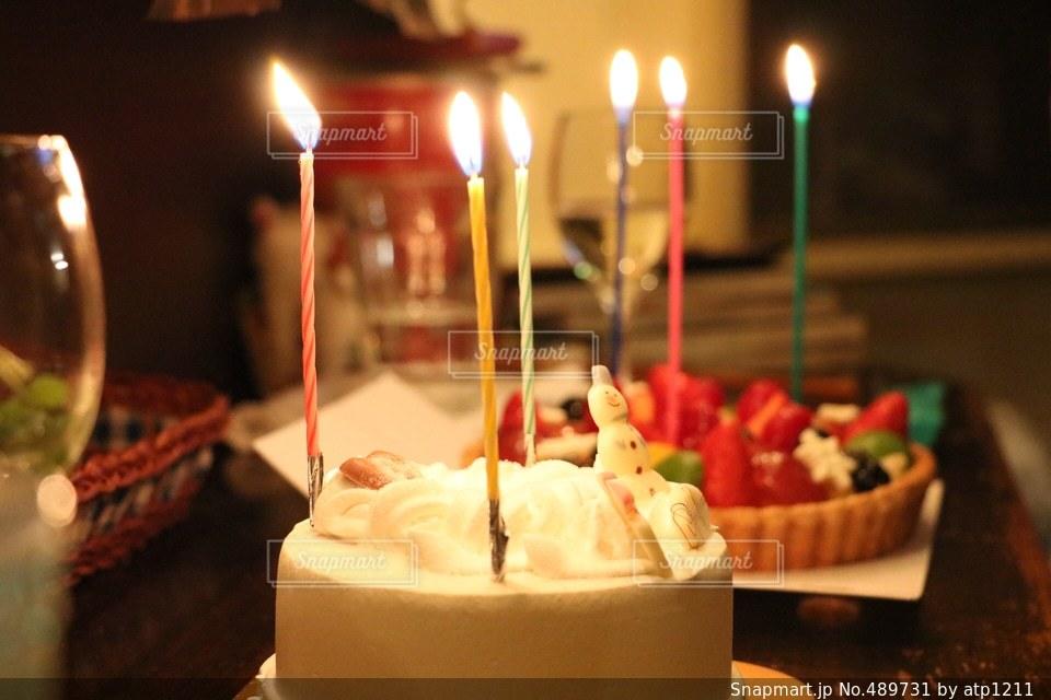 ケーキの写真・画像素材[489731]