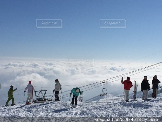 雲海の写真・画像素材[934918]