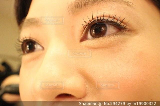 目の写真・画像素材[594279]