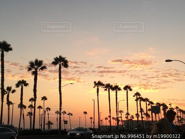 カリフォルニアサンセットの写真・画像素材[996451]