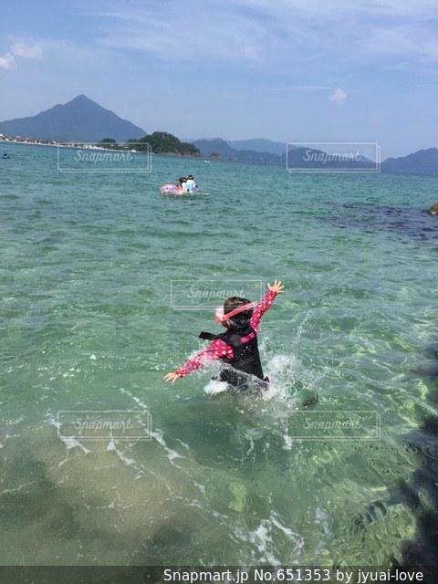 水遊び 飛び込み海シュノーケル - No.651353