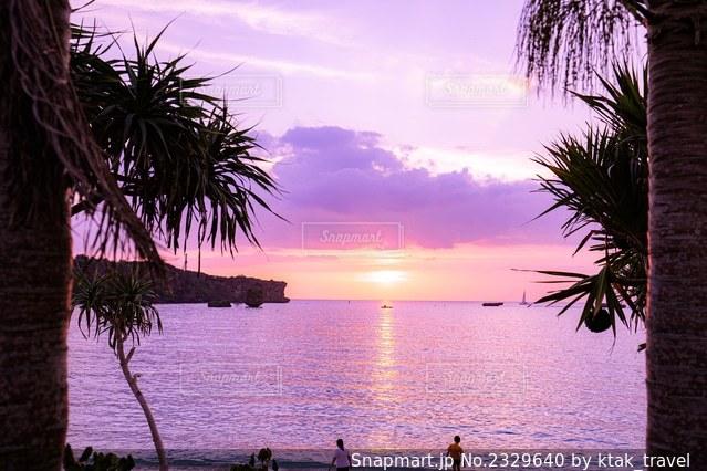 夕日の写真・画像素材[2329640]