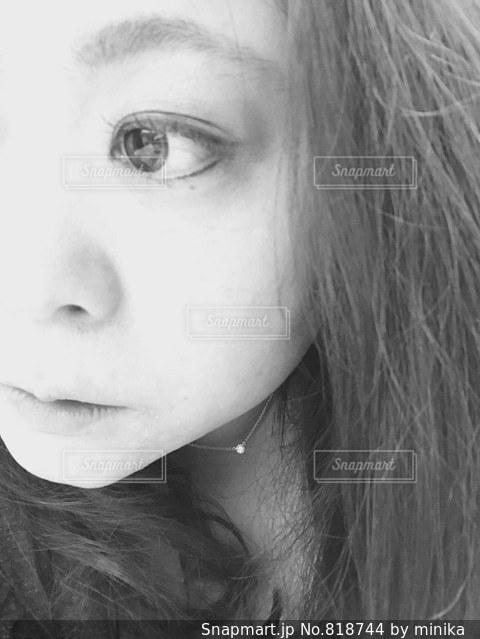 顔の写真・画像素材[818744]