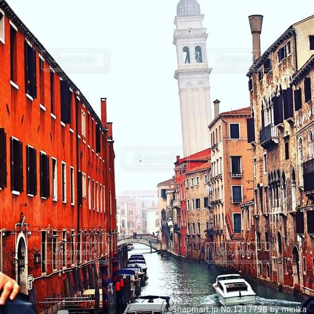 水の都、ヴェネツィアにて。の写真・画像素材[1217798]