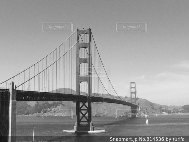 ゴールデンゲートブリッジの写真・画像素材[814536]