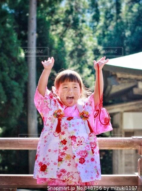 七五三喜びの写真・画像素材[848756]