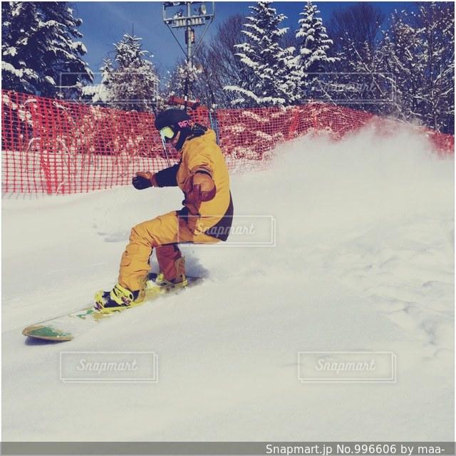 スノーボードの写真・画像素材[996606]