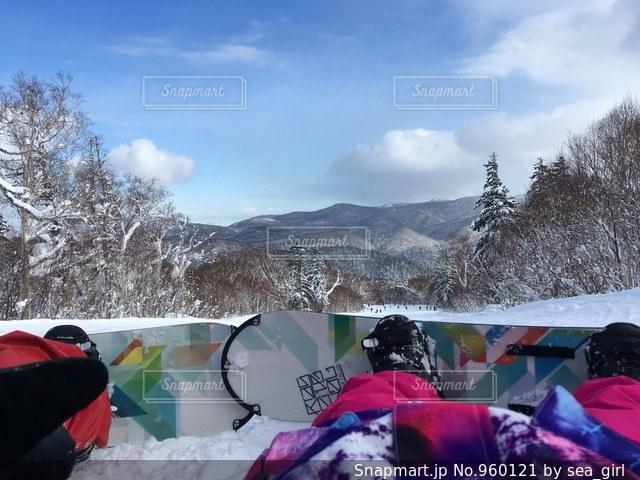 雪の中での写真・画像素材[960121]