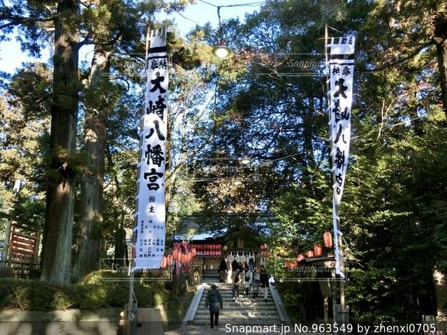 仙台、大崎八幡宮。初詣 - No.963549